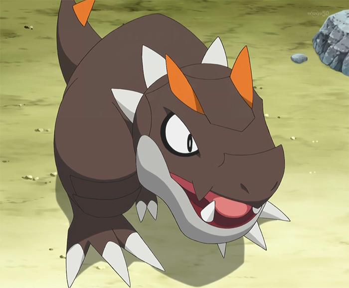 Tyrunt fossil monster
