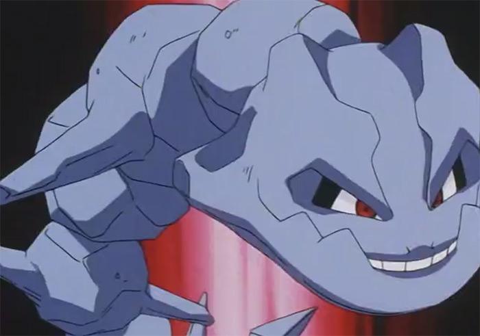 Steelix steel snake creature