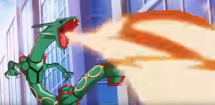 Rayquaza anime screenshot