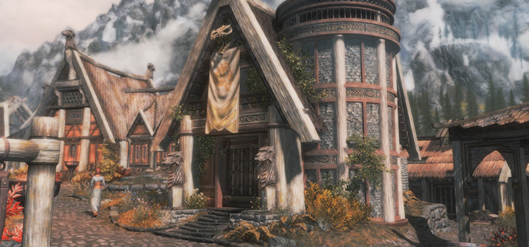Modded Breezehome in Skyrim