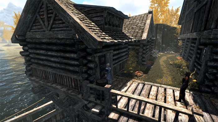 Honeyside home in Skyrim