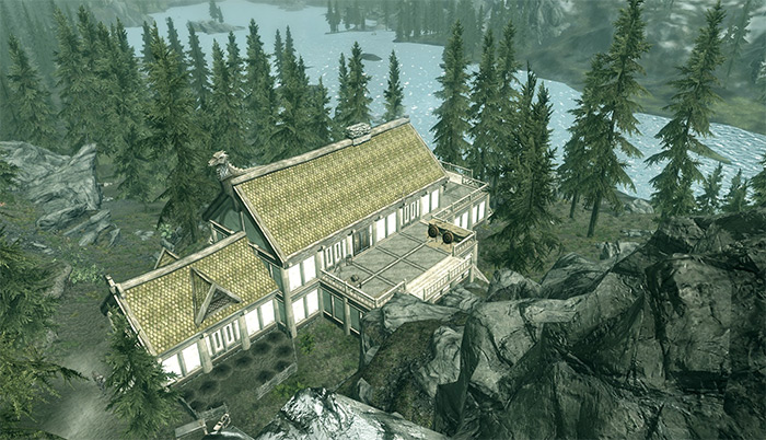 Lakeview Manor exterior Skyrim