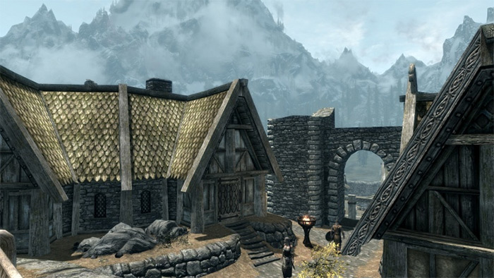 Uthgerds House Exterior Skyrim