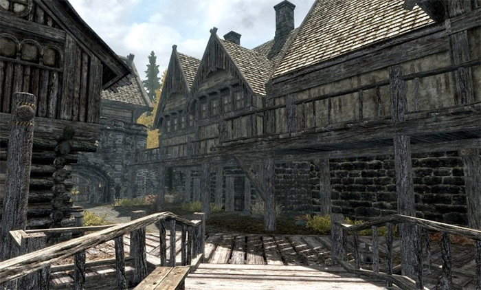 Aerins House in Skyrim