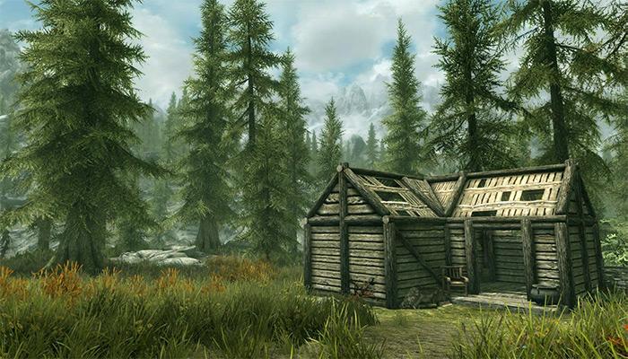 Anises Cabin exterior skyrim