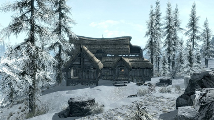 Traitor's Post exterior Skyrim