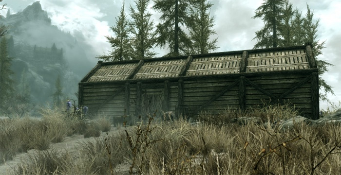 The Abandoned Shack in Skyrim