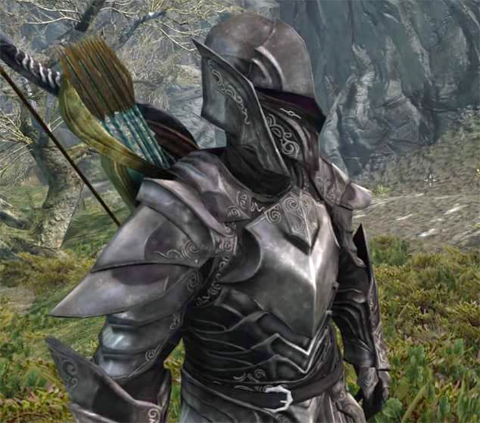 Ebony Armor Skyrim photo