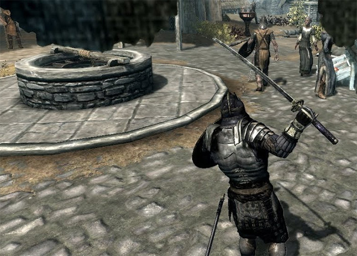 Blades Armor Skyrim photo
