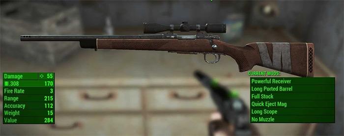 Reba II Rifle in Fallout 4
