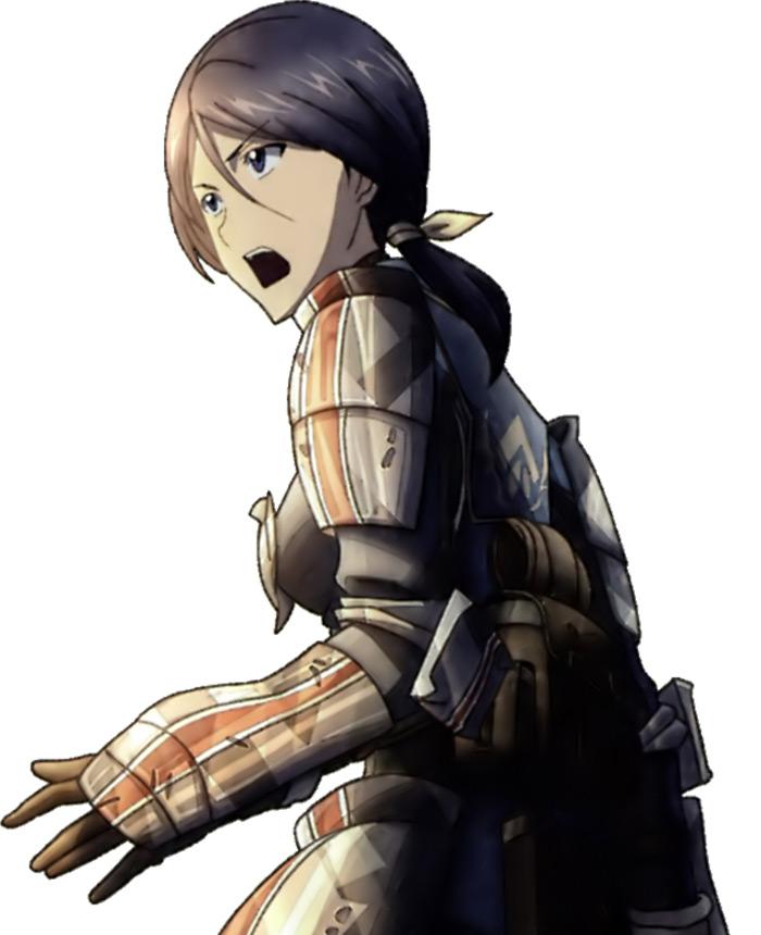 Lynn from Valkyria Chronicles