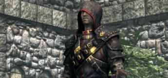 Lightarmor modded Skyrim Guild armor