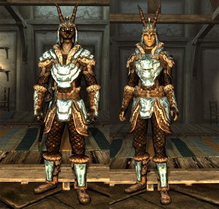 Deathbrand Armor, best light armor in Skyrim