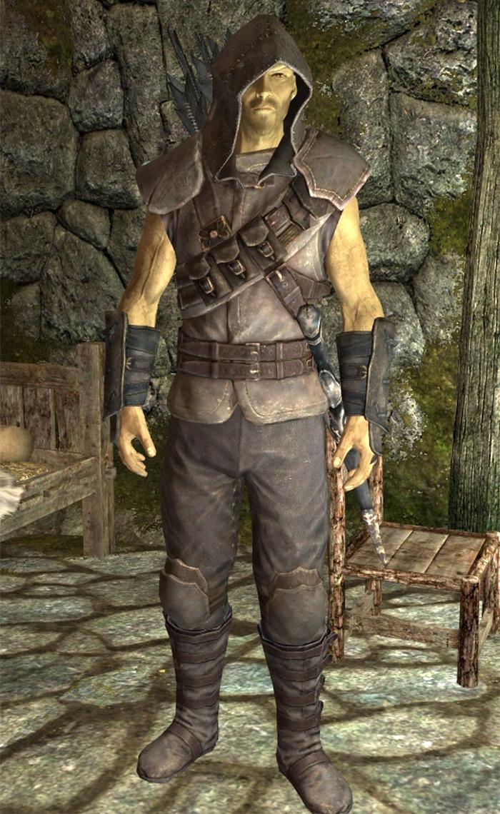 Blackguards Armor in Skyrim