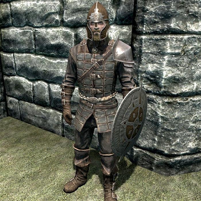 Dawnguard Armor in Skyrim