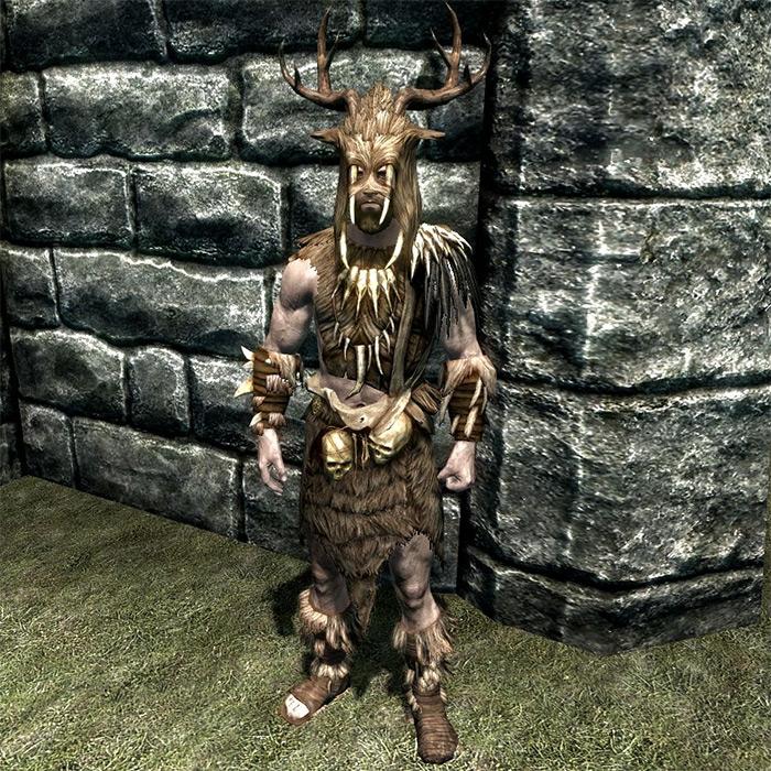 Forsworn Armor in Skyrim