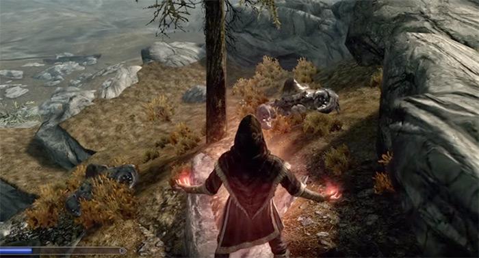 Casting Hysteria in Skyrim