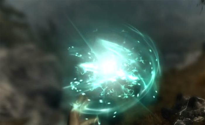 Courage spell in Skyrim