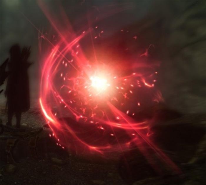 Casting Fury in Skyrim