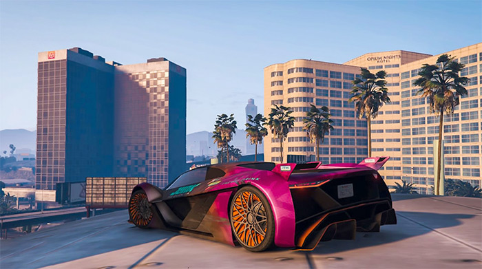 Pegassi Tezeract in GTA 5