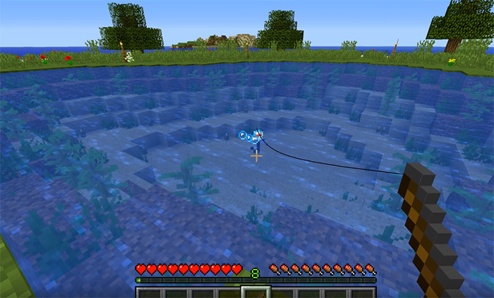 Lure Fishing Minecraft Enchantment