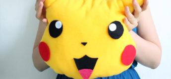 Pikachu pillow custom diy