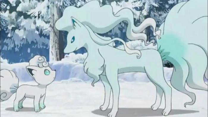 Ice snow alolan ninetails