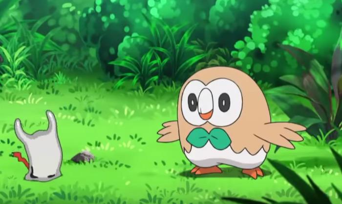 Rowlet happy anime screenshot