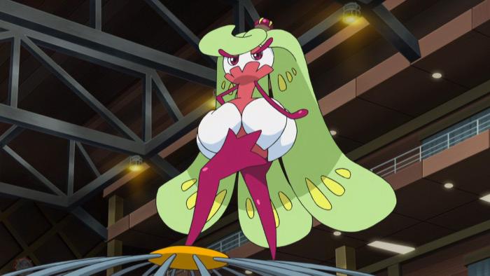 Tsareena anime screenshot