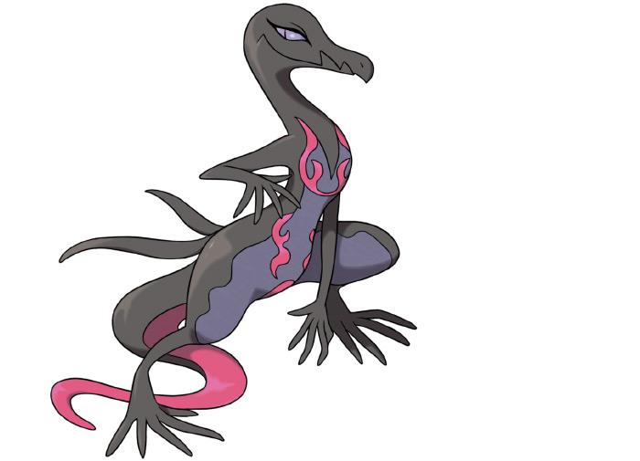 Salazzle pokemon creature
