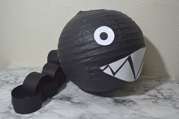 Chain chomp design lantern