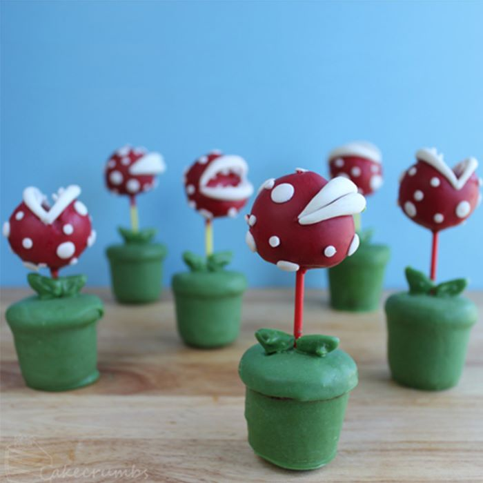 Super mario piranha plant pops