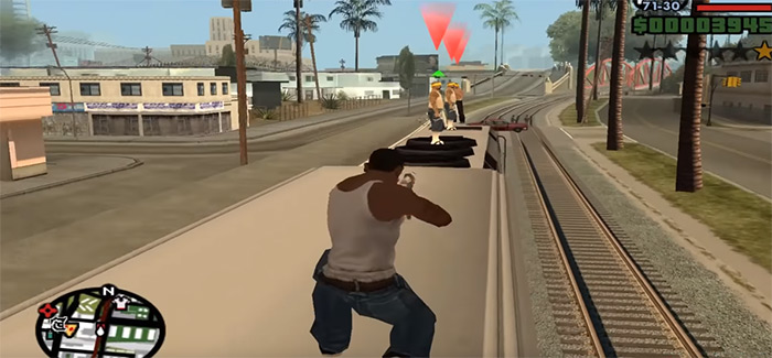 Wrong Side of the Tracks mission