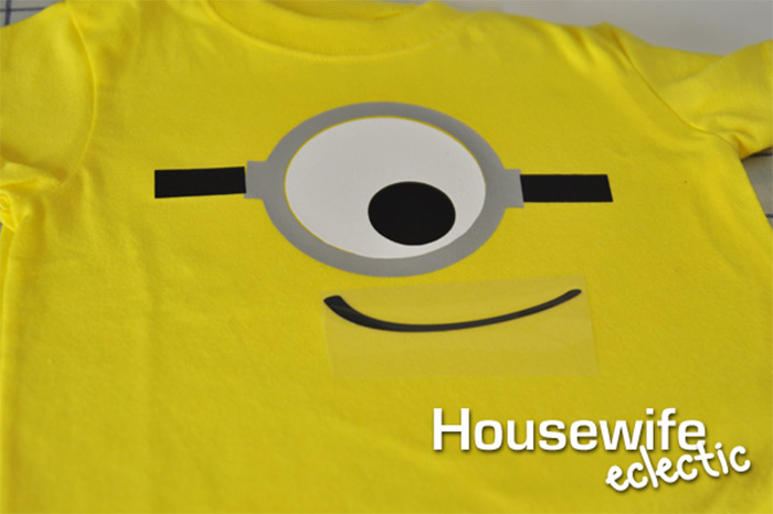 Custom minion shirt