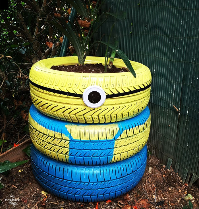diy minion planter project