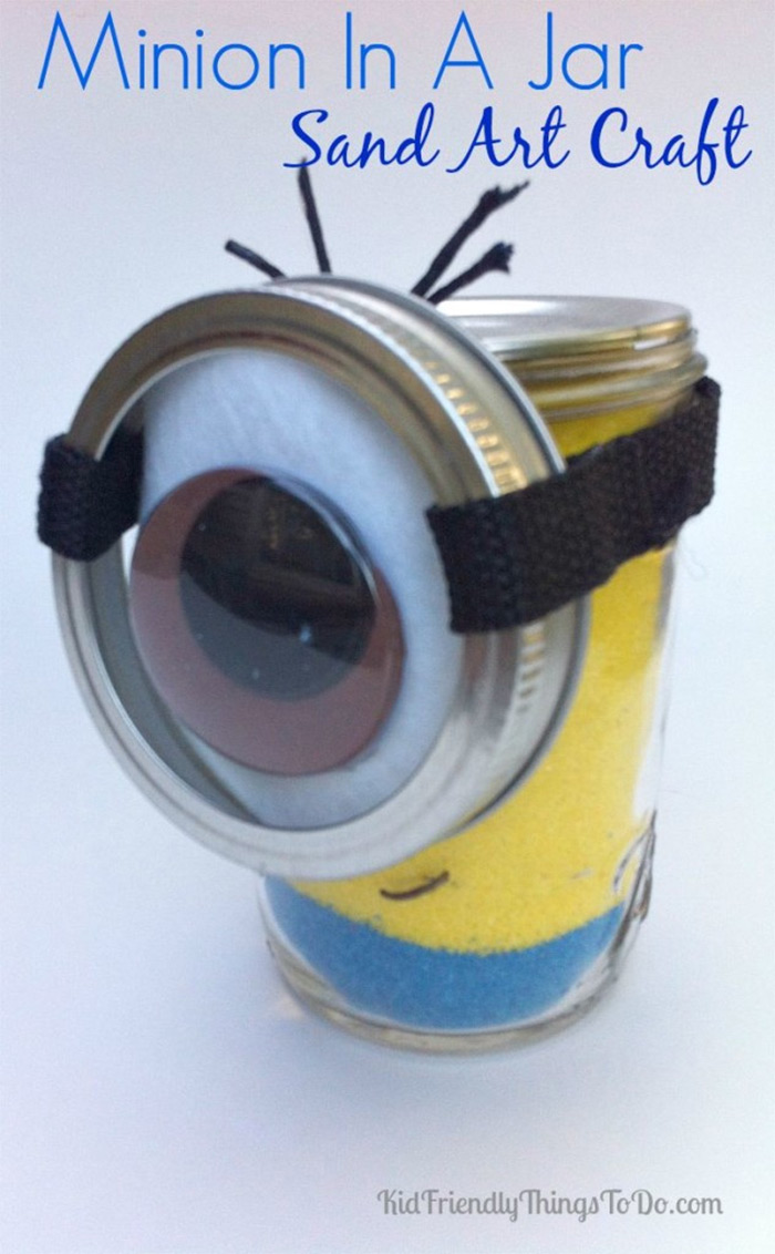 diy minion in a jar