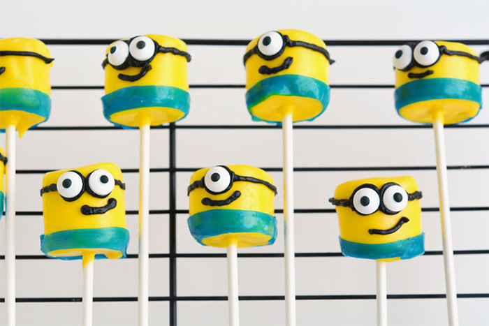Minion marshmallow recipe