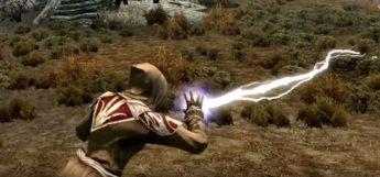 Destruction spells testing in Skyrim