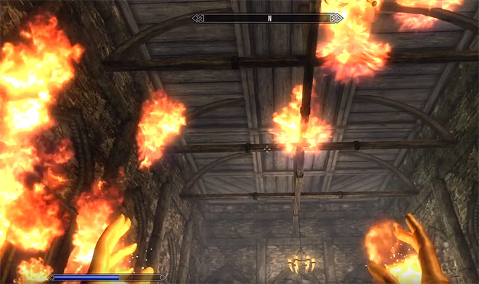 Wall of Flames skyrim