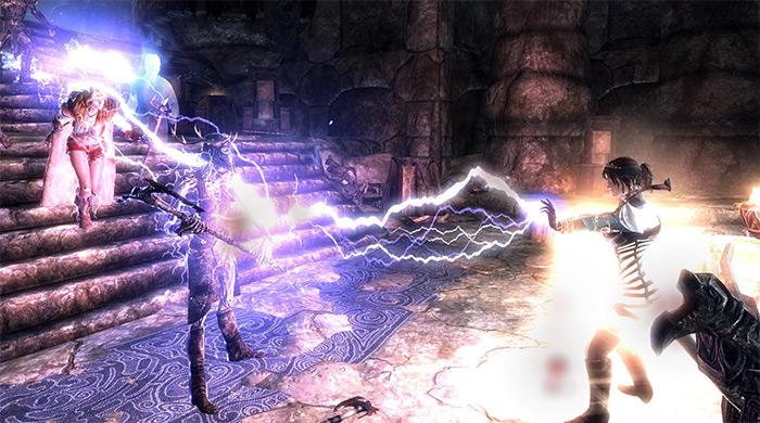 Chain Lightning skyrim spell