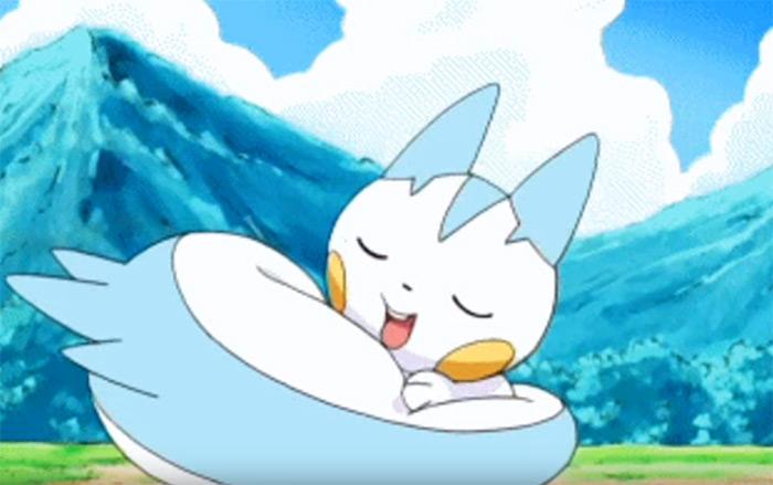 Pachirisu anime pokemon