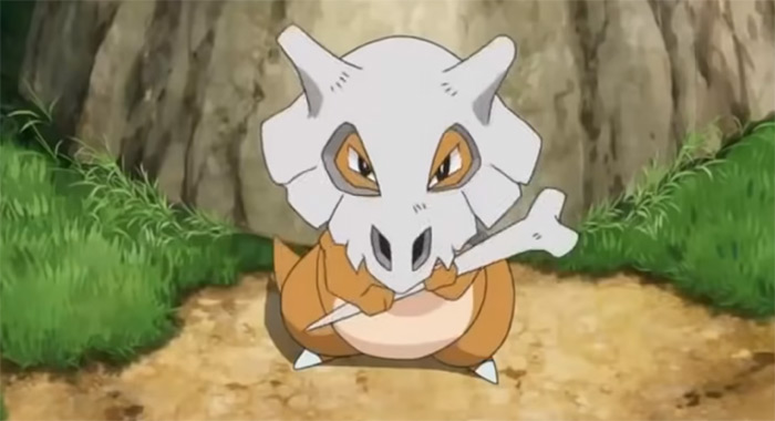 Cubone skull from anime