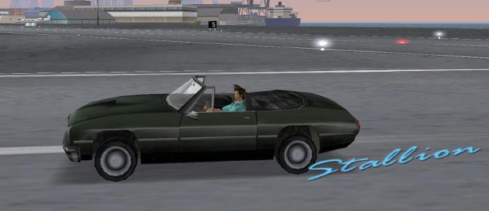 Stallion Vice City car