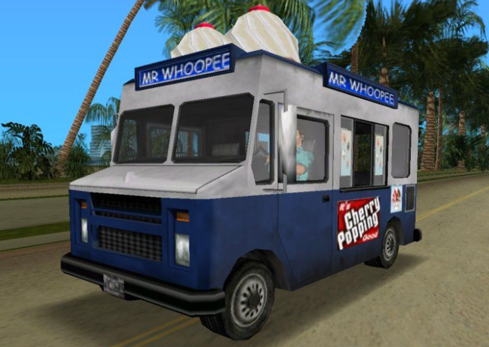 Mr Whoopee ice cream truck