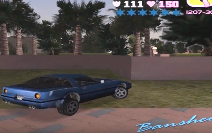 Banshee car in vice city