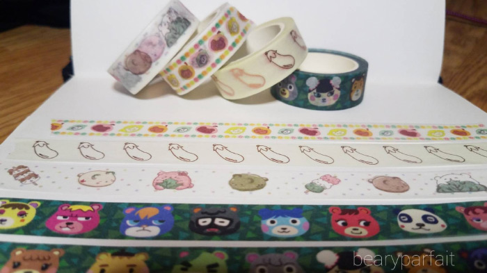 Animal crossing washi tape