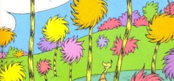 Truffula trees artwork