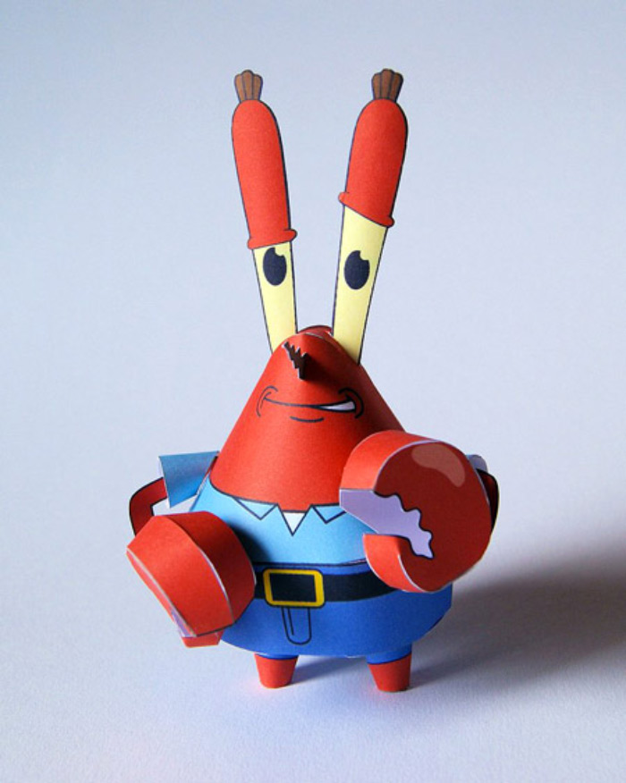 Mr krabs replicate design
