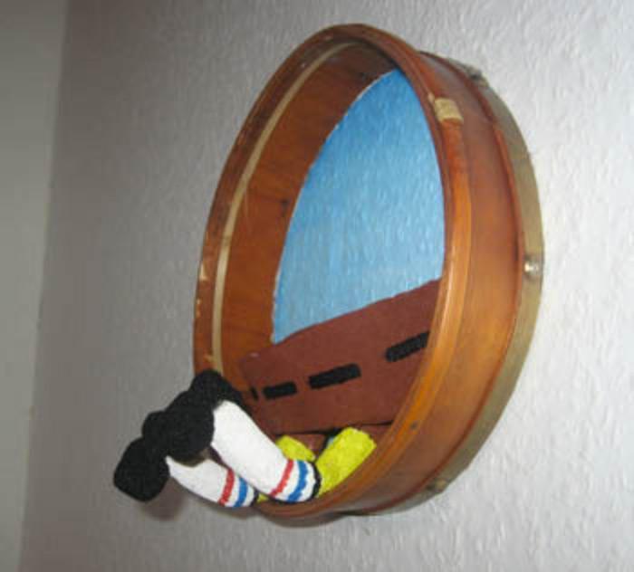 Spongebob wall decor handmade craft