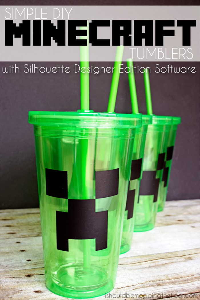 Simple diy tumbler minecraft
